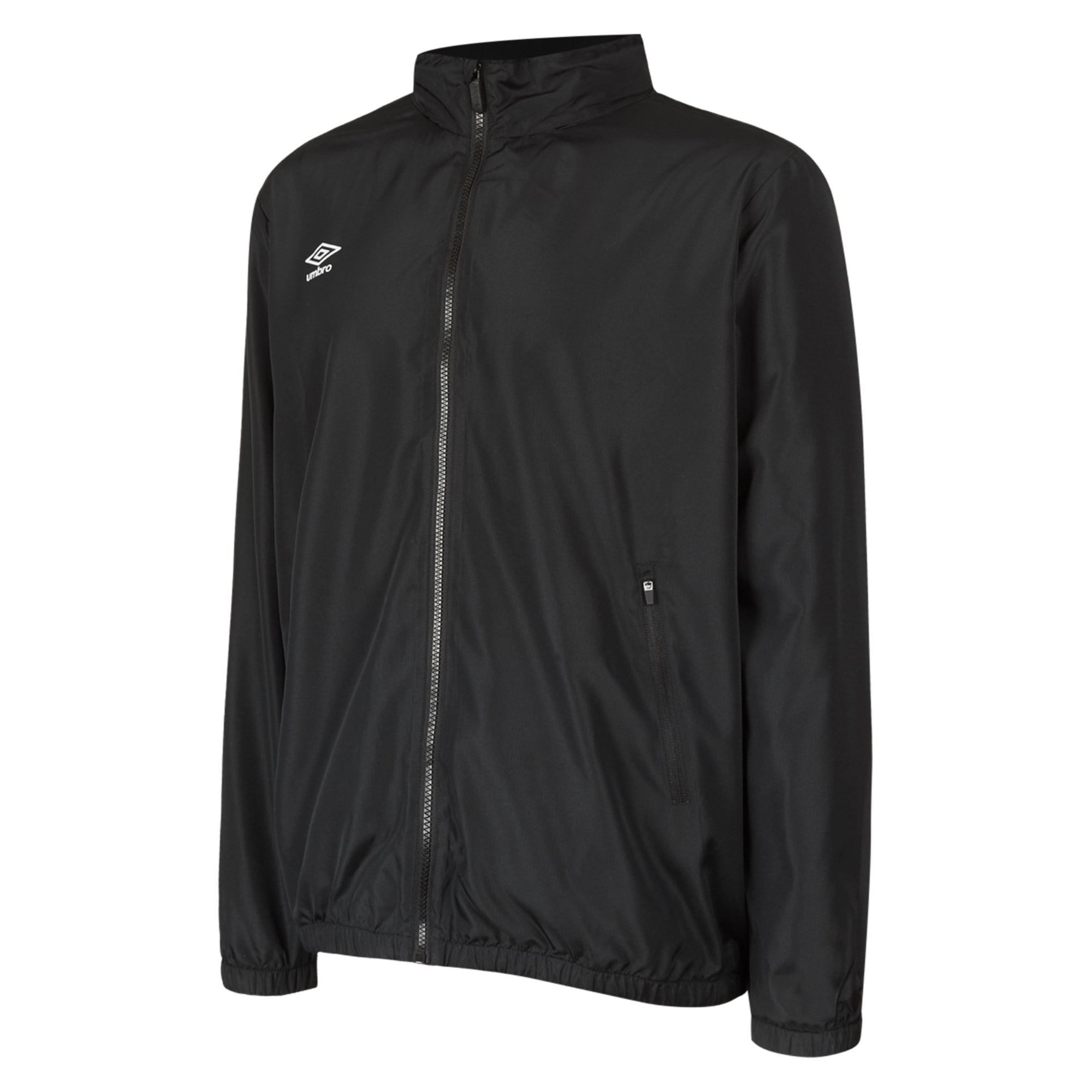 Umbro Club Essential Light Rain Jacket - Black