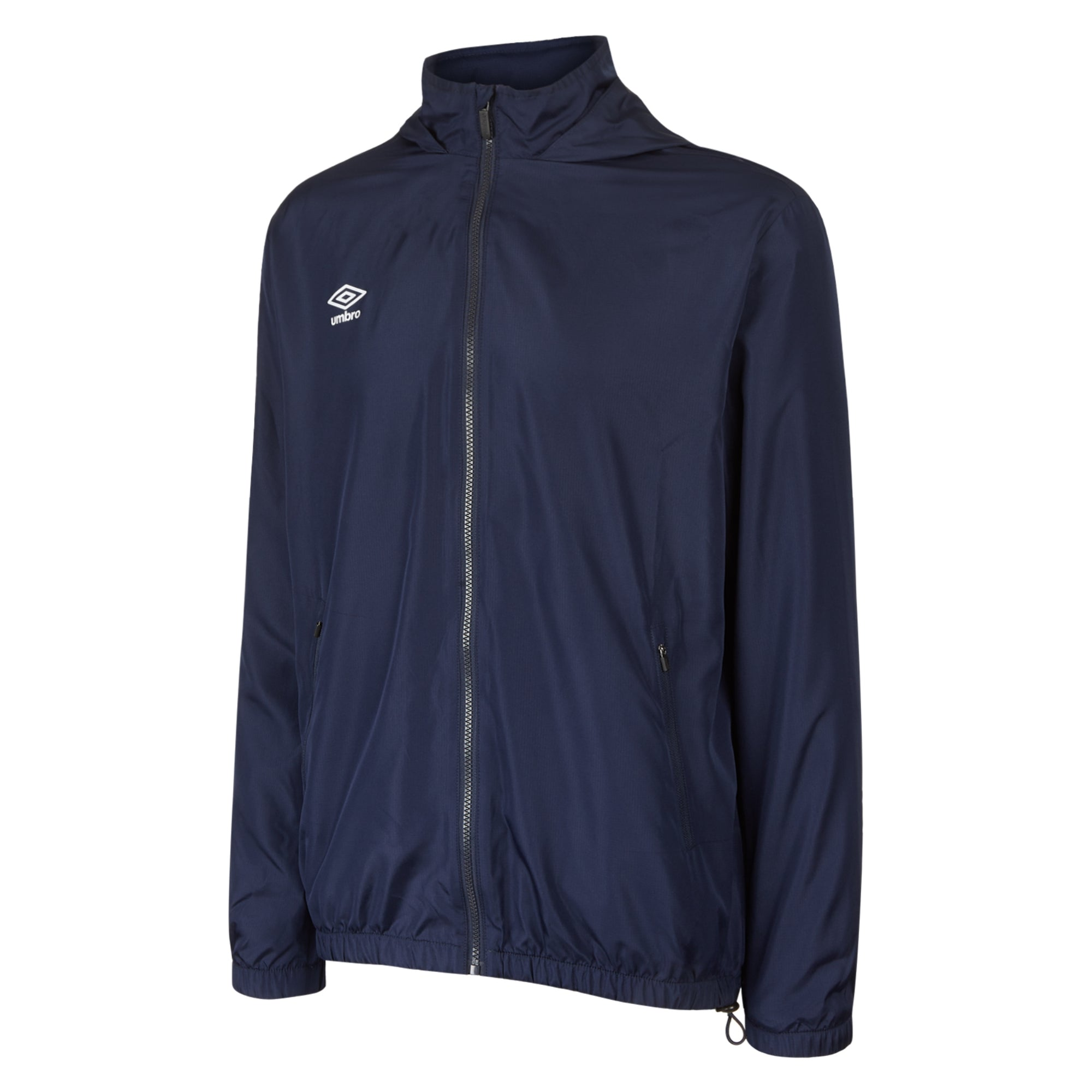 Umbro Club Essential Light Rain Jacket - Dark Navy