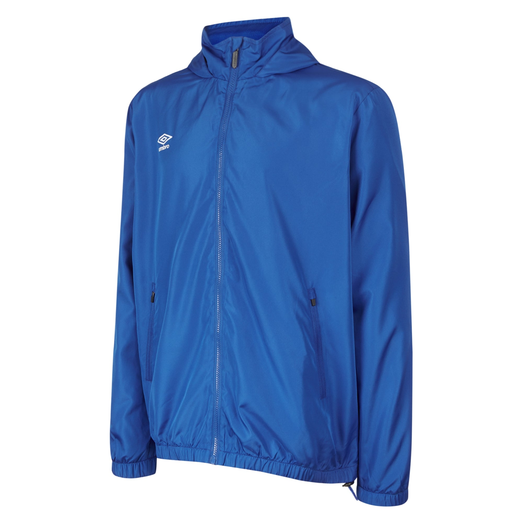 Umbro Club Essential Light Rain Jacket - Royal