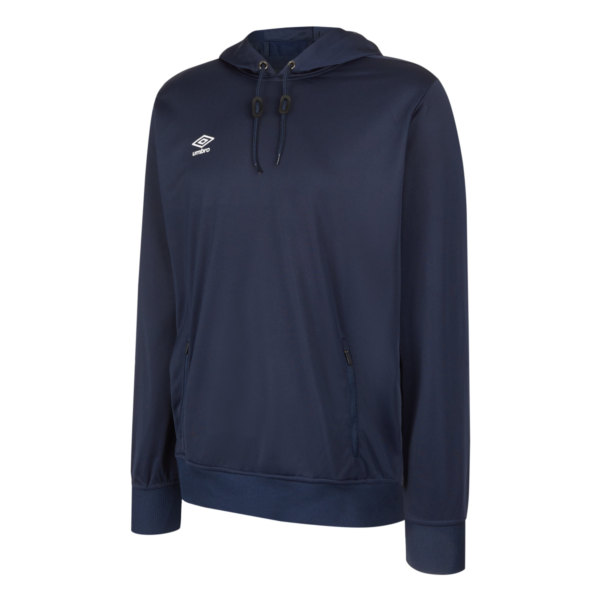 Umbro Club Essential Poly Hood - Dark Navy