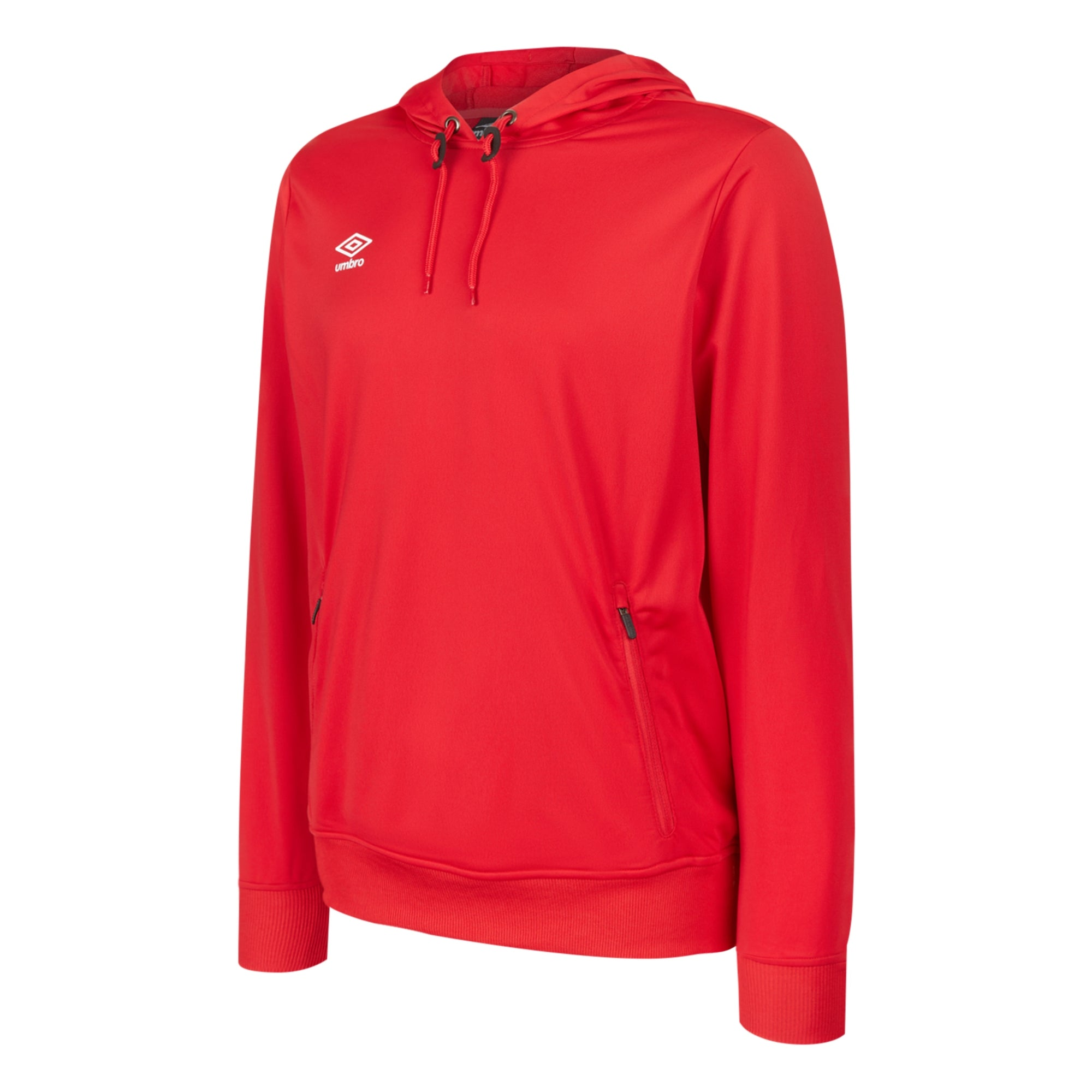 Umbro Club Essential Poly Hood - Vermillion