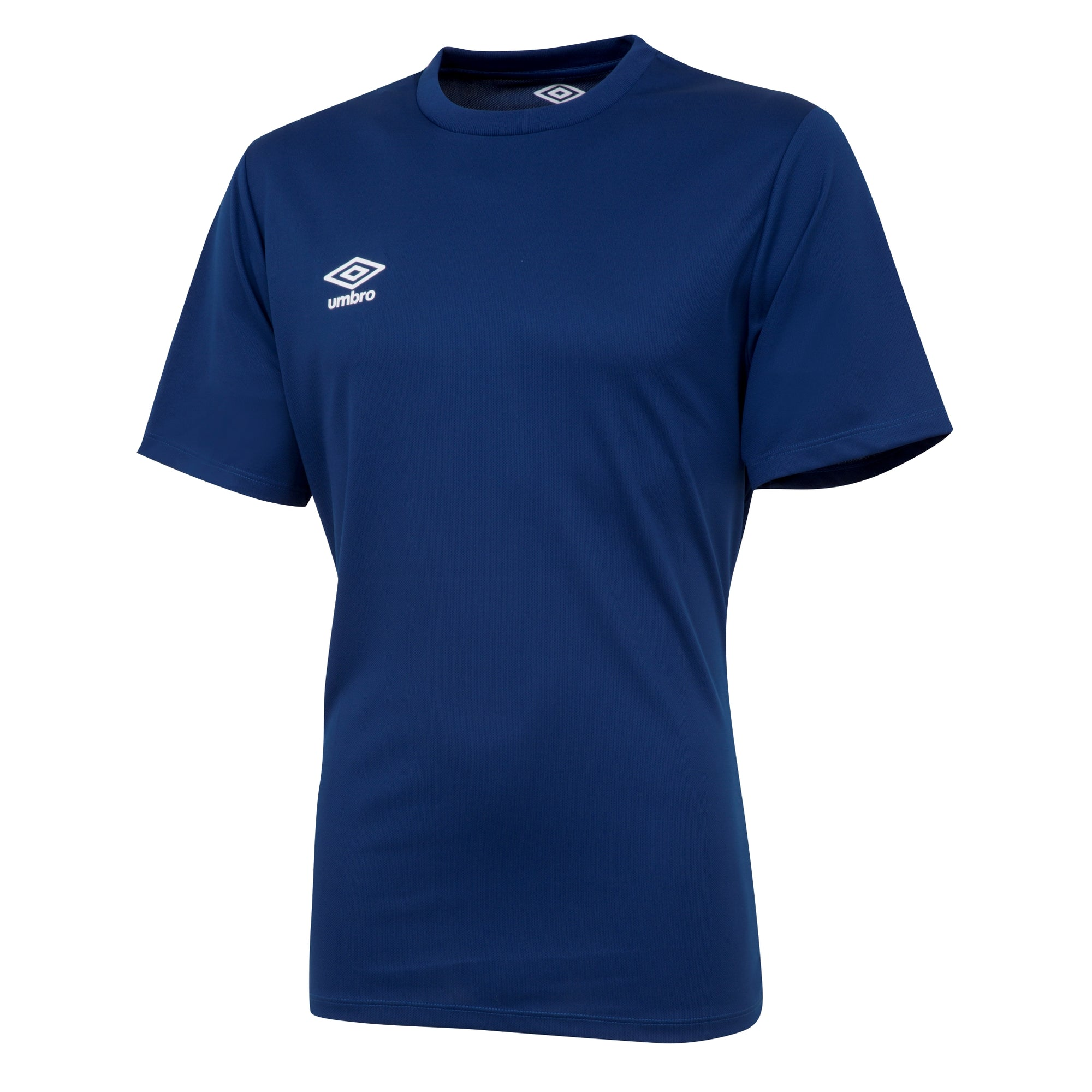 Umbro short sleeve club jersey in navy with white printed Umbro logo