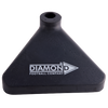 Diamond Corner Pole Base black