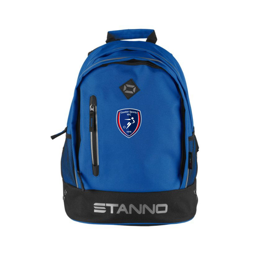 Dexter Sports YFC Stanno Backpack Royal with Badge