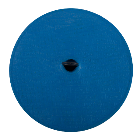 Round Diamond Flat Marker in blue