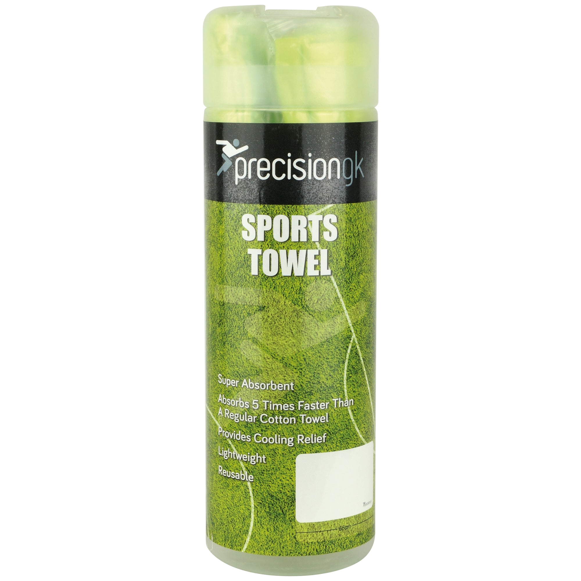 Precision GK Sports Towel - Green