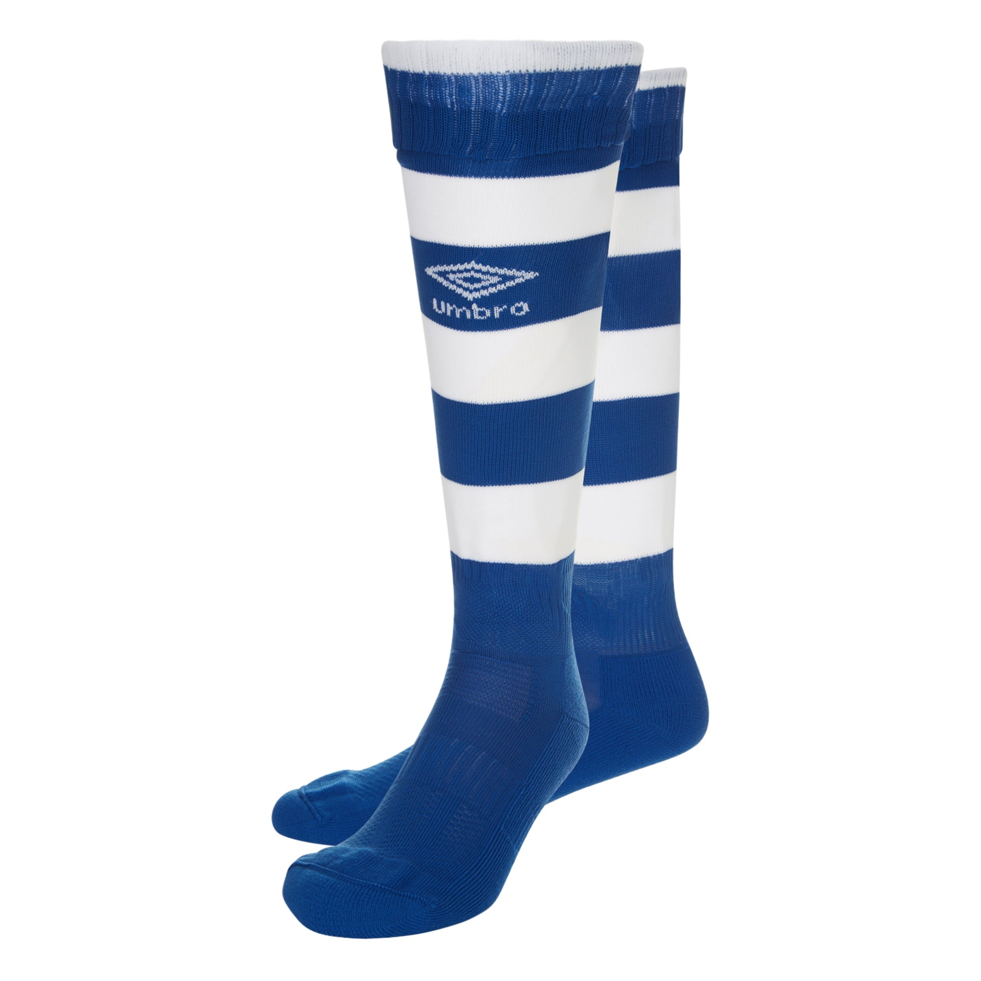 Umbro Hoop Sock - Royal/White