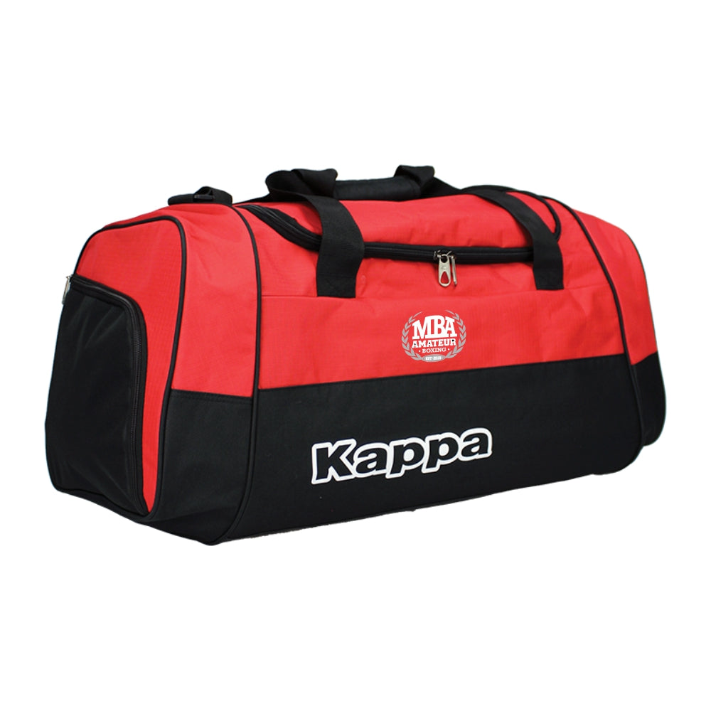 Mackenzies Boxing Academy - Kappa Brenno Sport Bag - Black/Red