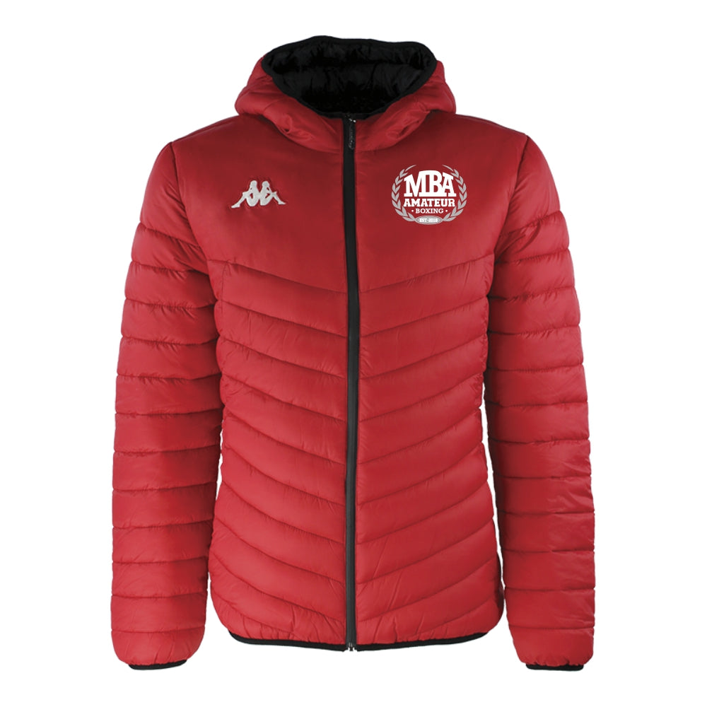 Mackenzies Boxing Academy - Kappa Doccio Padded Jacket - Red