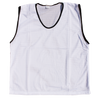 Diamond Mesh Bibs - White