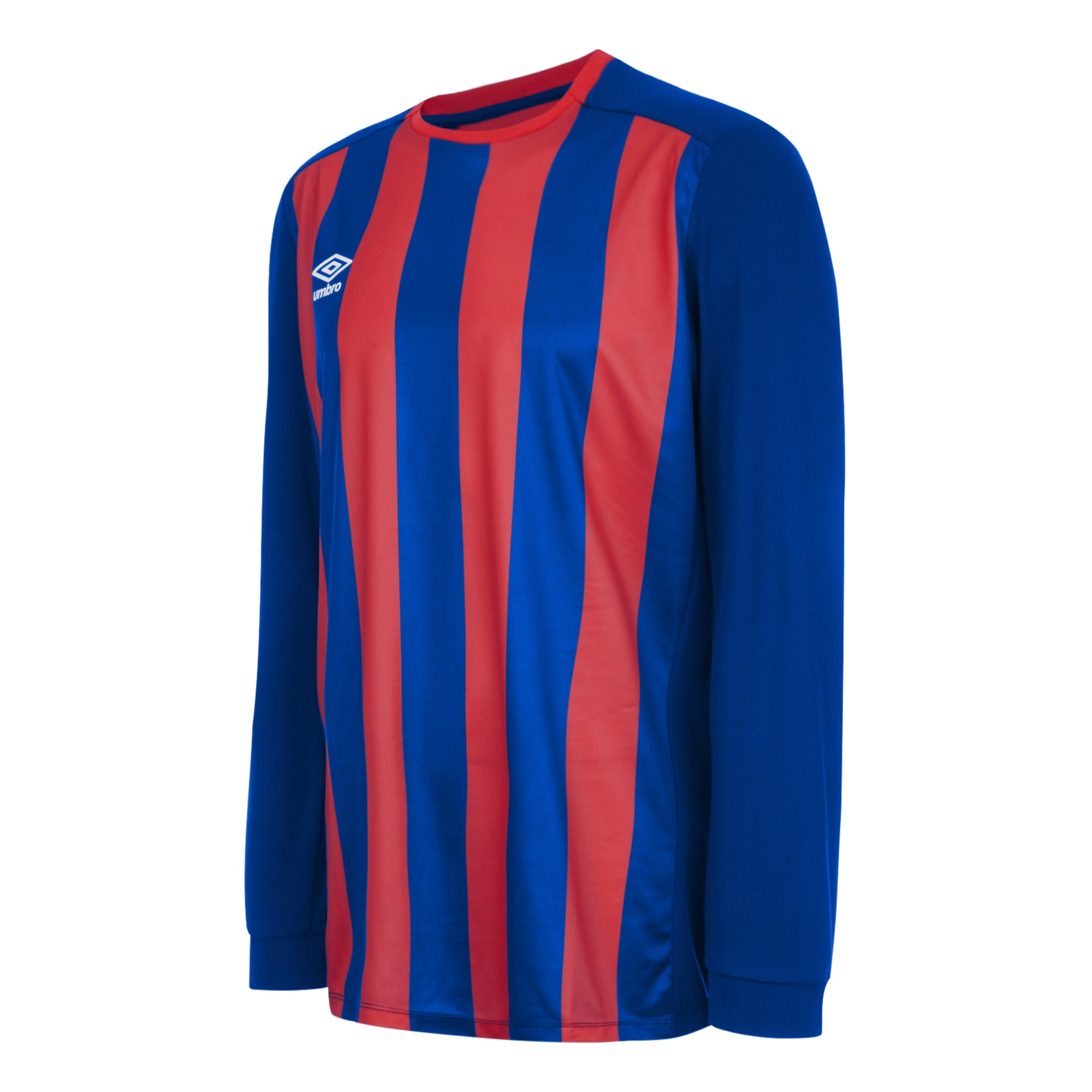Umbro Milan Jersey LS - Royal/Vermillion