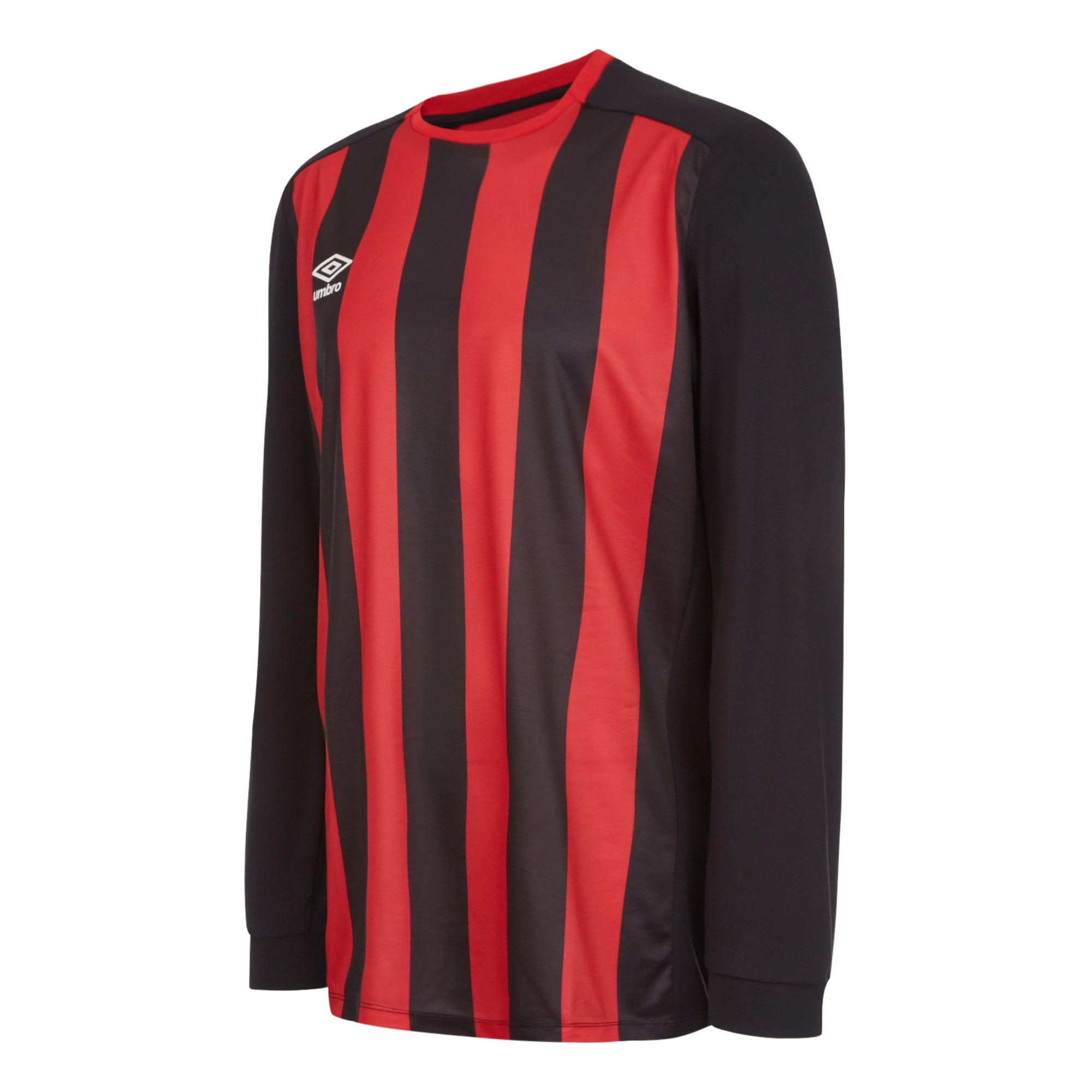 Umbro Milan Jersey LS - Black/Vermillion