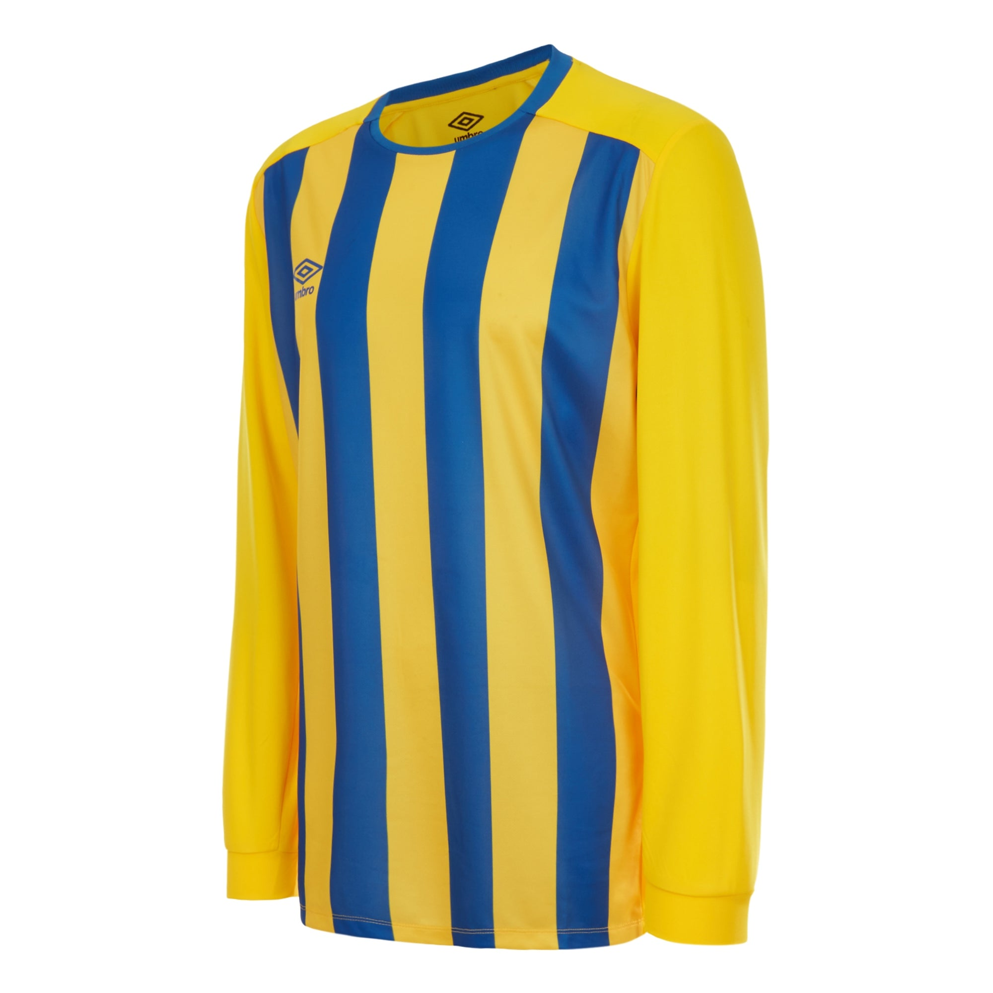 Umbro Milan Jersey LS - Yellow/Royal