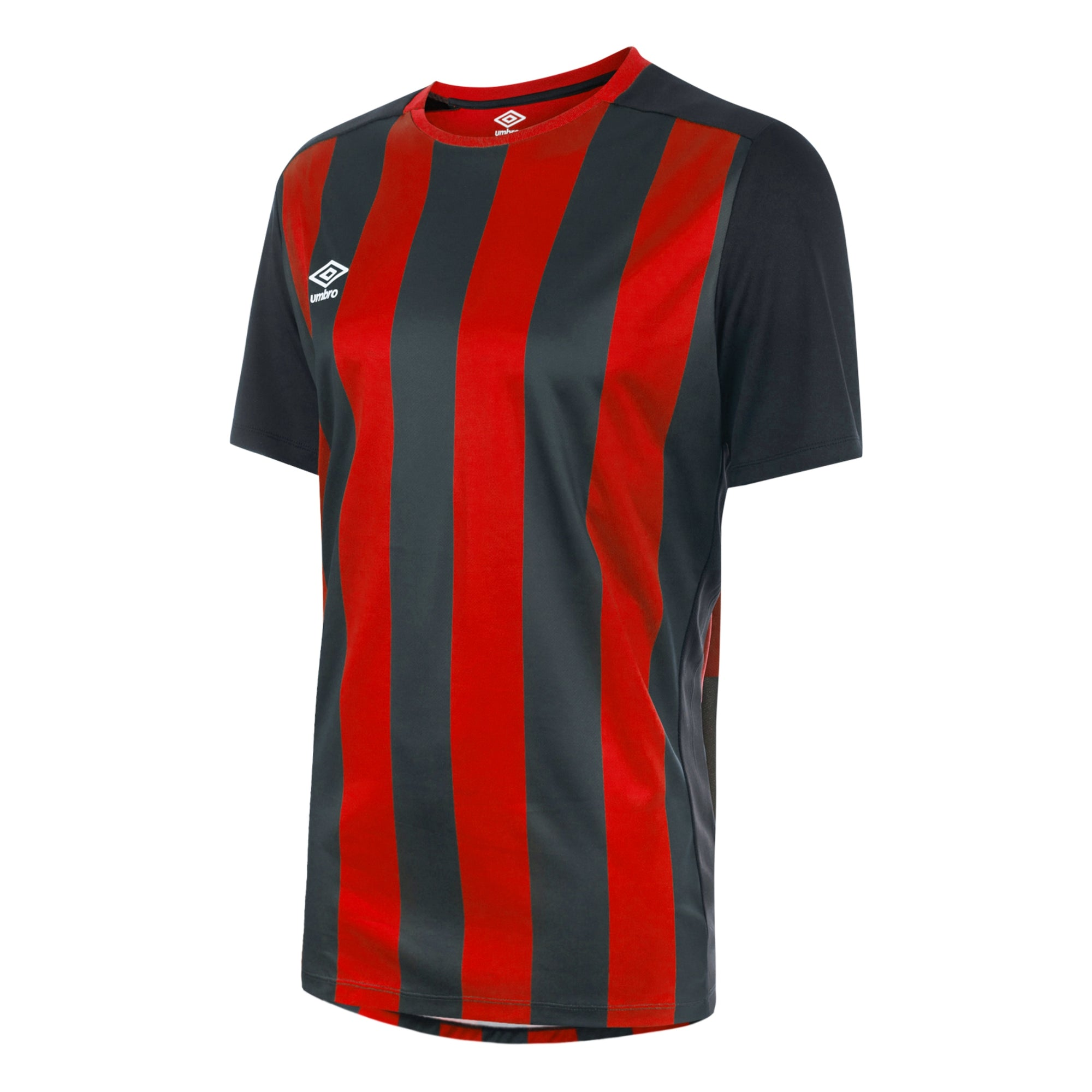 Umbro Milan Jersey SS - Black/Vermillion