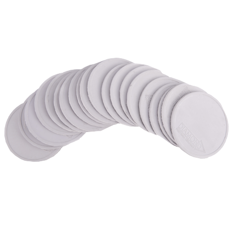 Diamond Mini Flat Markers in white