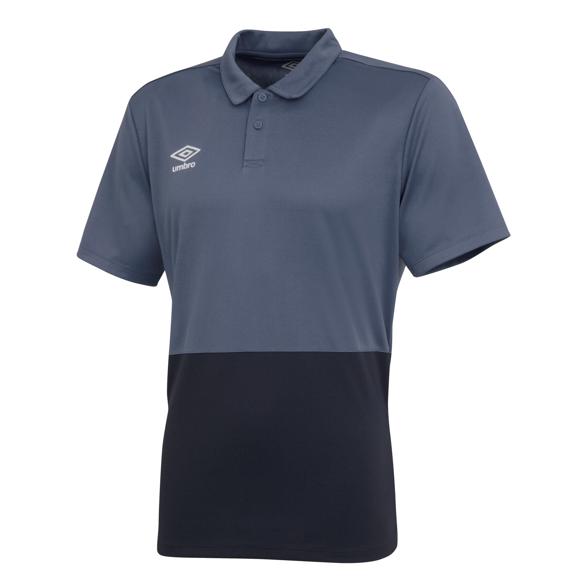 Umbro Poly Polo - Carbon/Black
