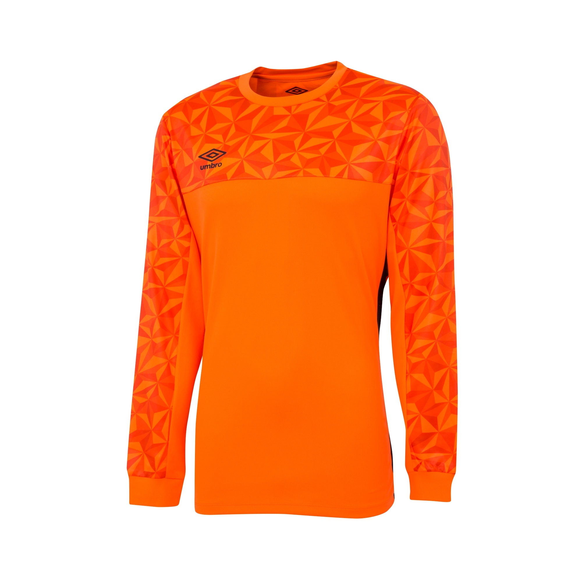 Umbro Portero LS Jersey - Shocking Orange