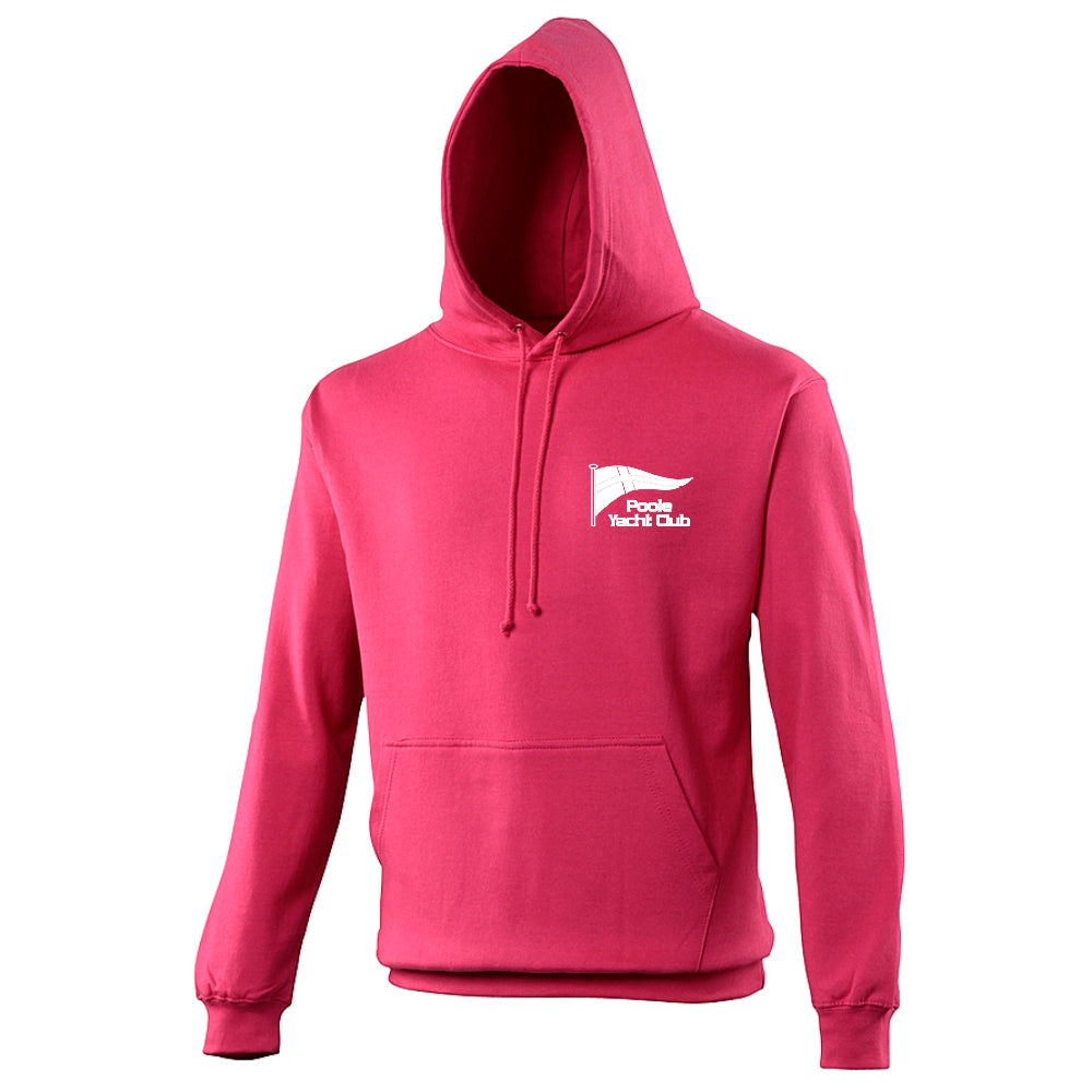 Poole Yacht Club - Youth Hoody - Hot Pink