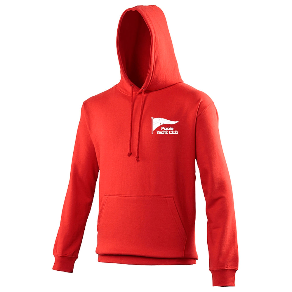 Poole Yacht Club - Youth Hoody - Fire Red