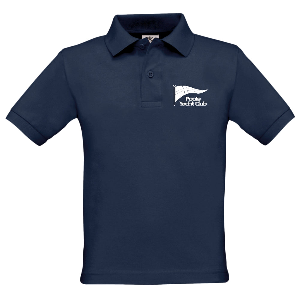 Poole Yacht Club - Youth Polo - Navy