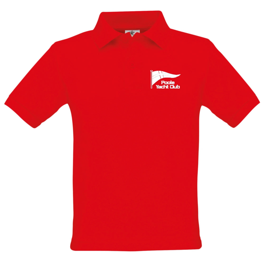 Poole Yacht Club - Youth Polo - Red