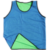Diamond Reversible Mesh Bibs blue with green inside