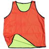 Diamond Reversible Mesh Bibs red with yellow inside