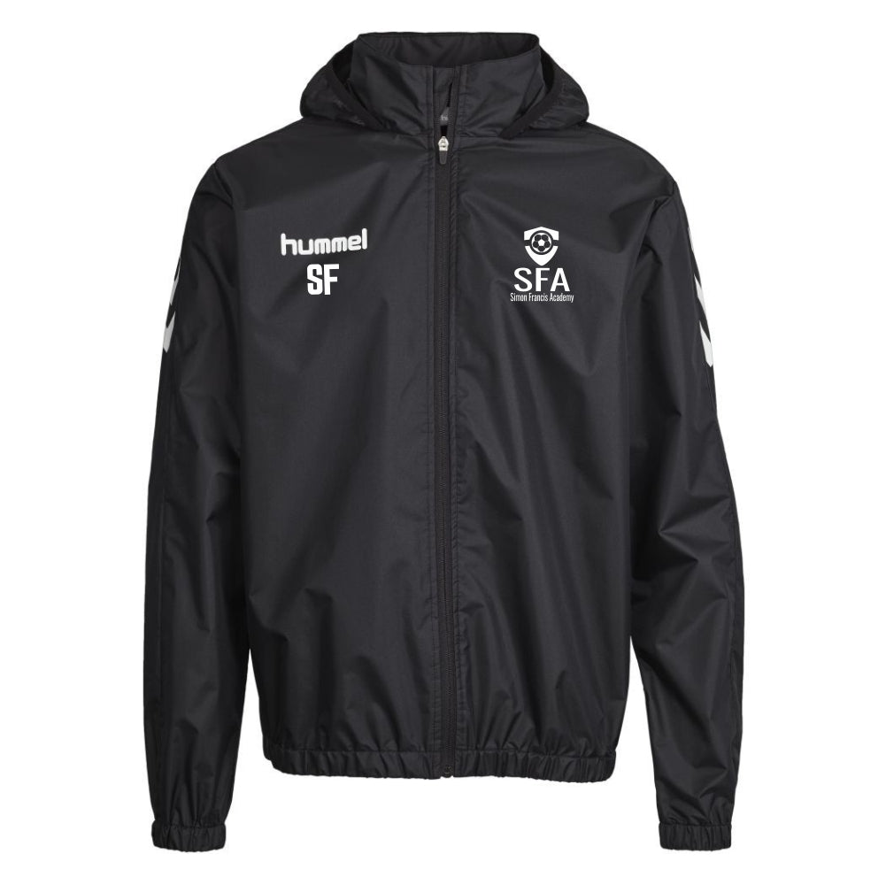 Simon Francis Academy - Hummel Core Spray Jacket - Black