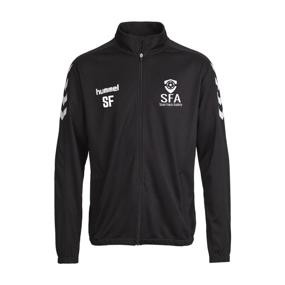 Simon Francis Academy - Hummel Core Poly Jacket - Black