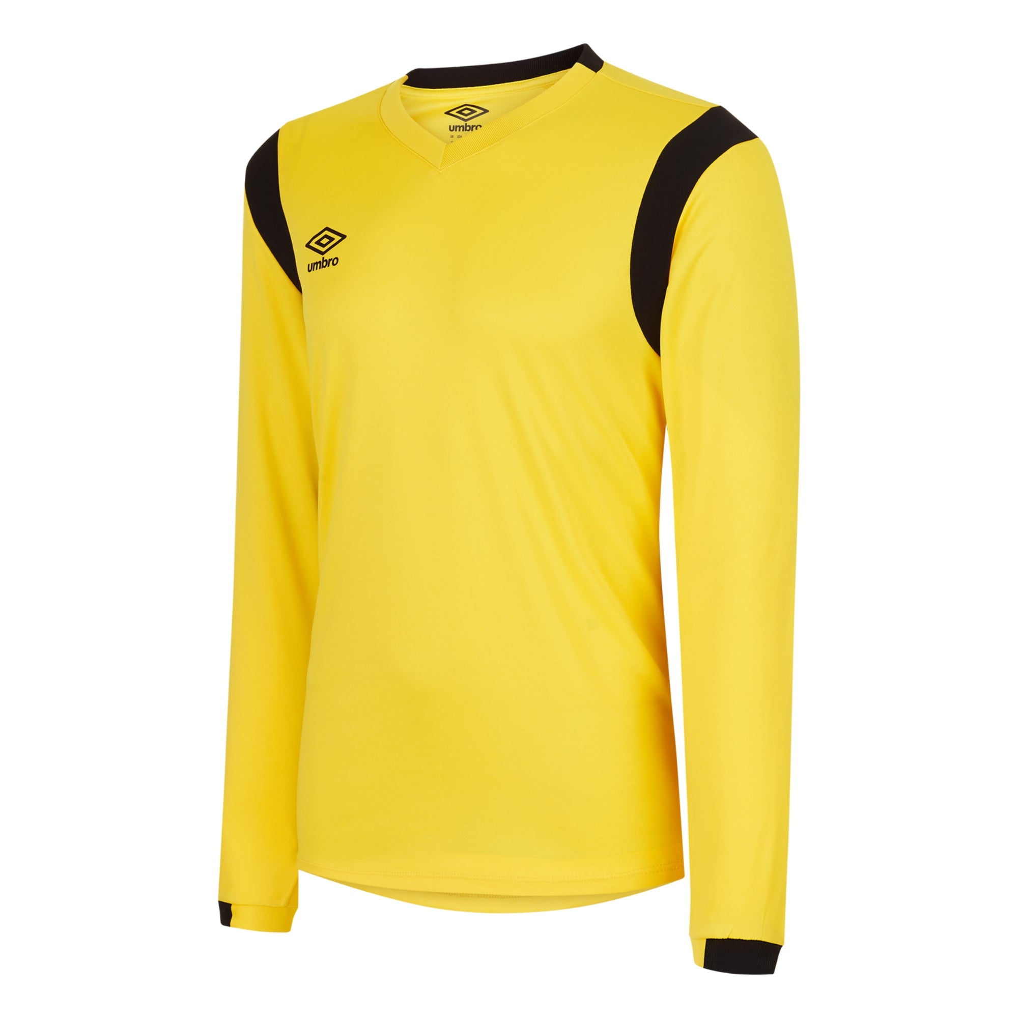 Umbro Spartan Jersey LS - Yellow/Black