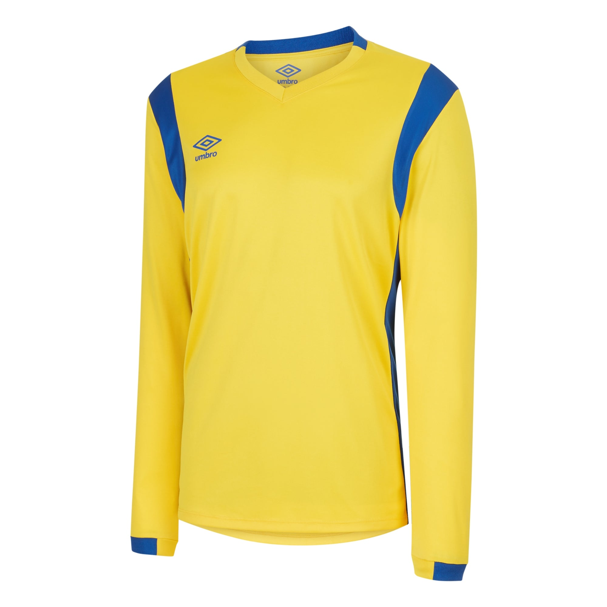 Umbro Spartan Jersey LS - Yellow/Royal