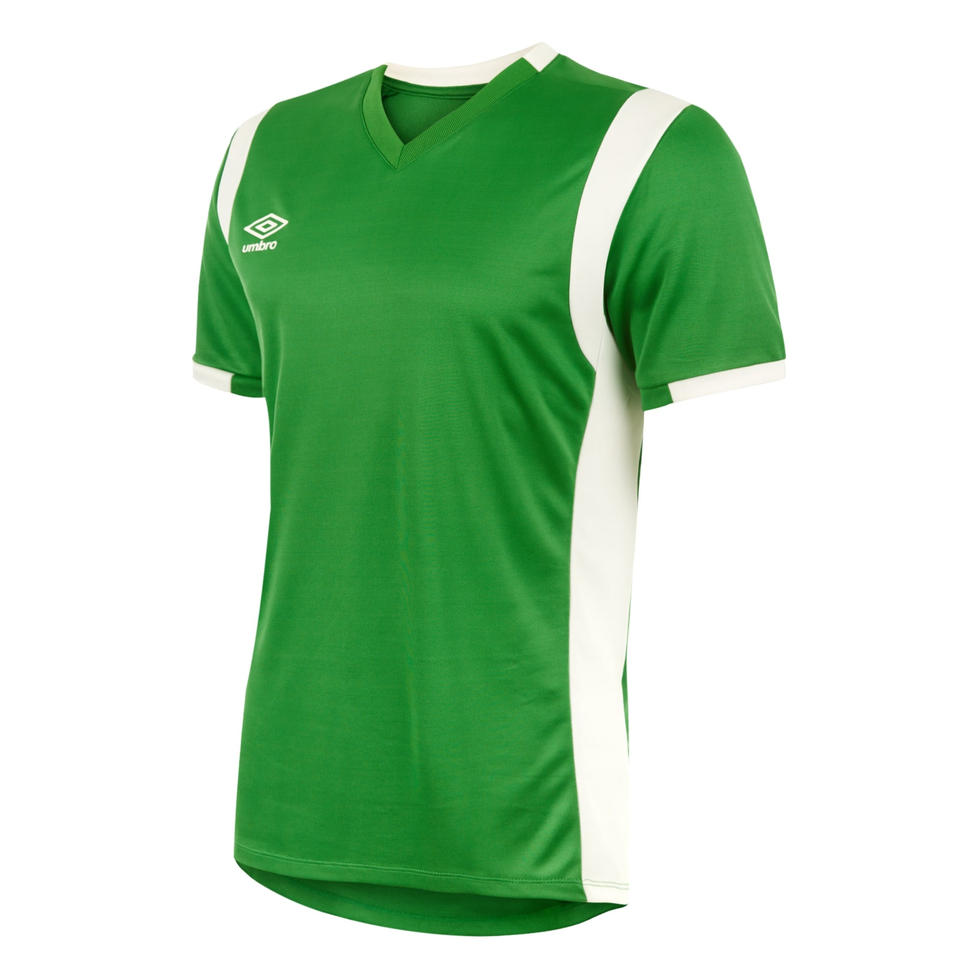 Umbro Spartan Jersey SS - Emerald/White