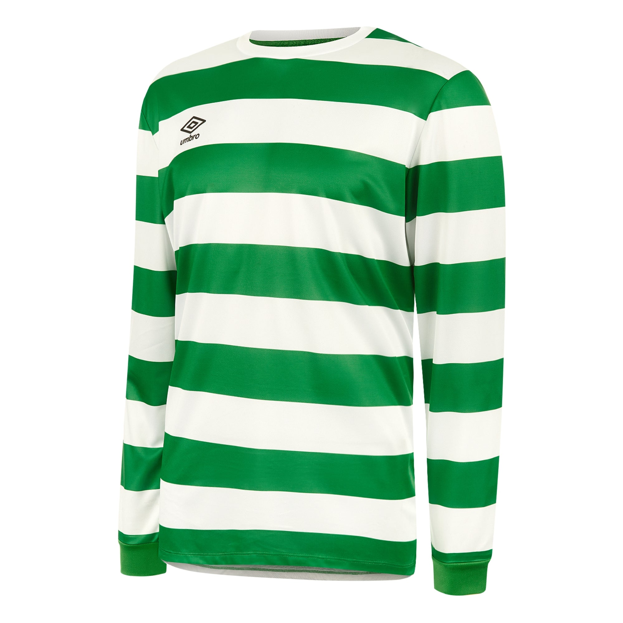 Umbro Terrace Jersey LS - Emerald/White