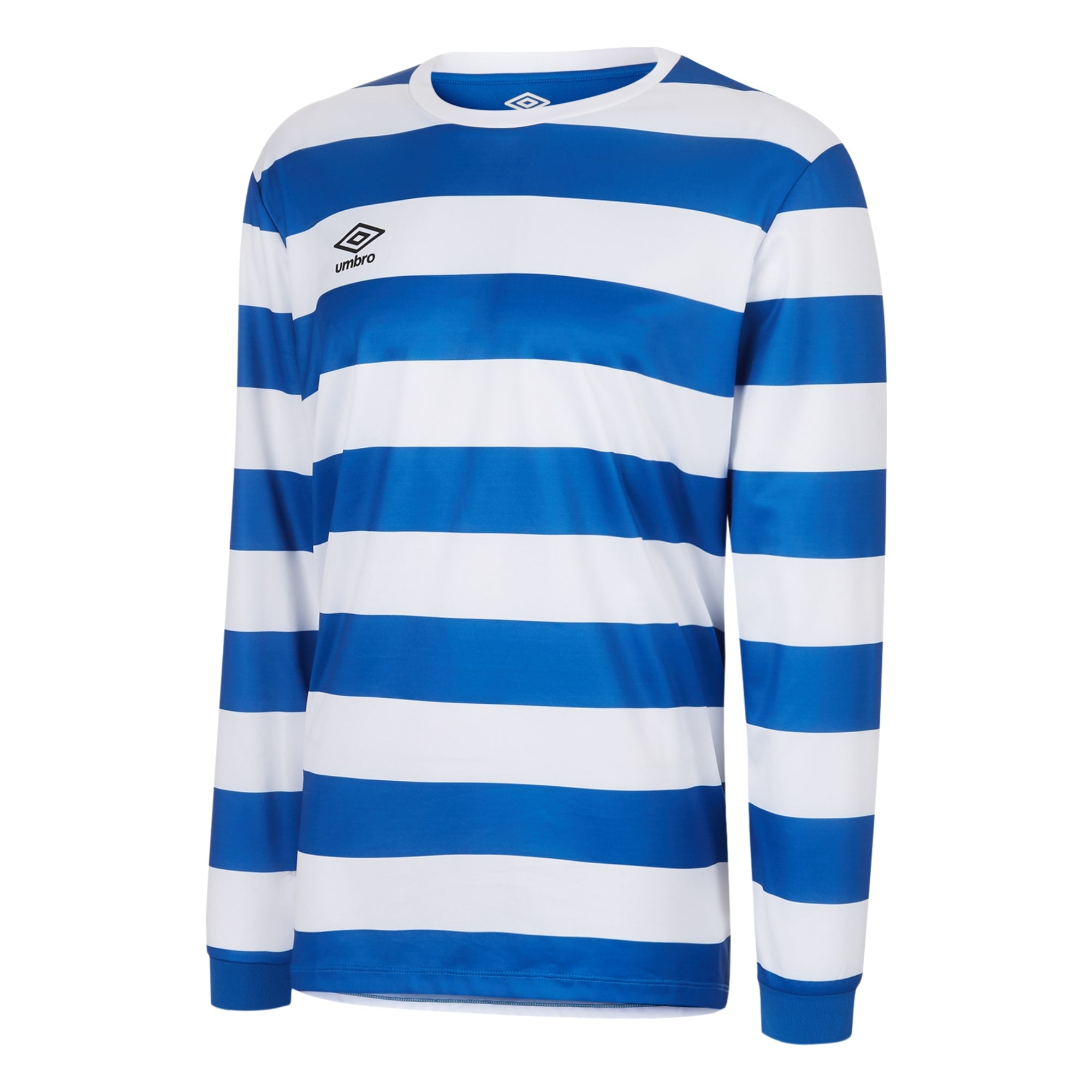 Umbro Terrace Jersey LS - Royal/White