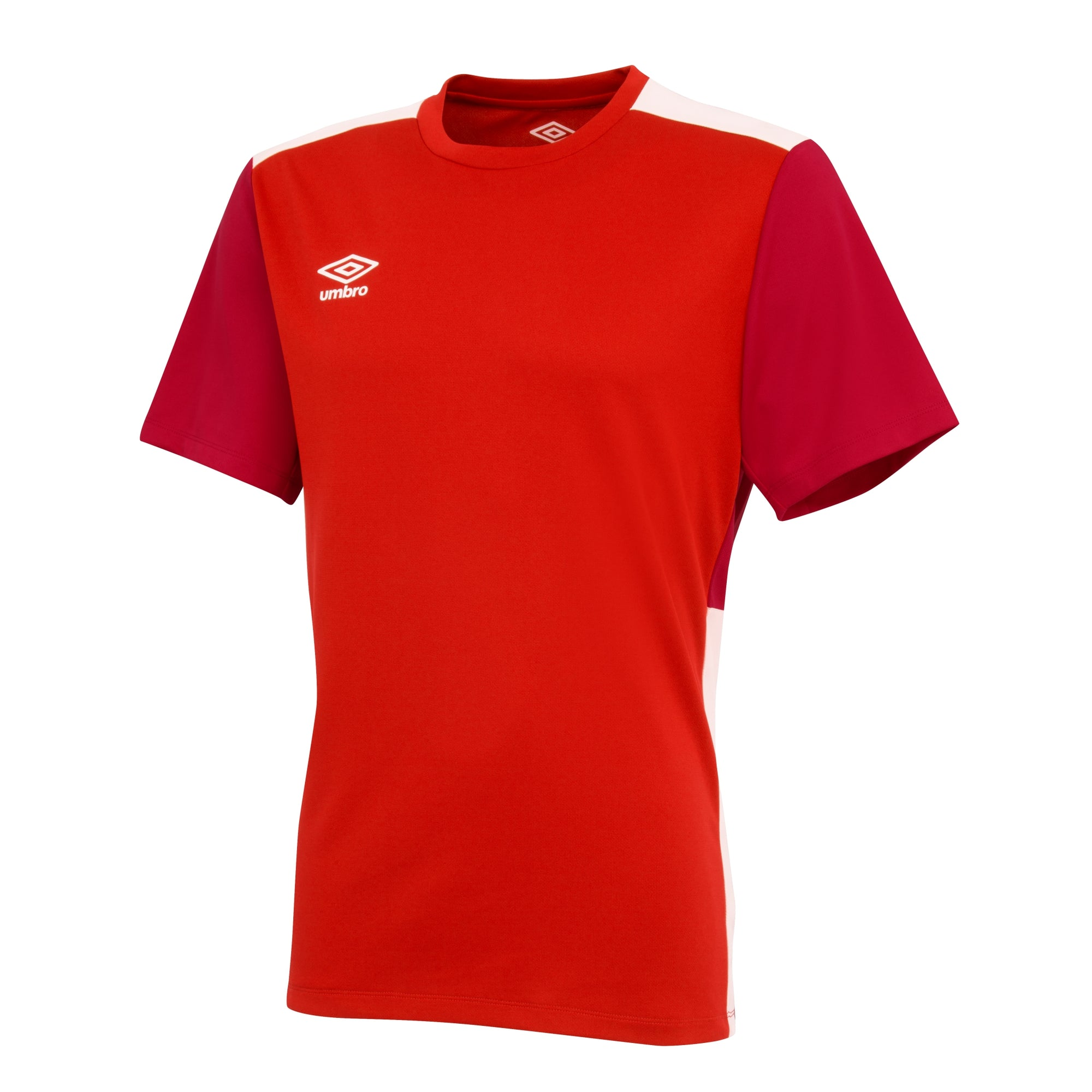 Umbro Training Jersey - Vermillion/Jester Red/White