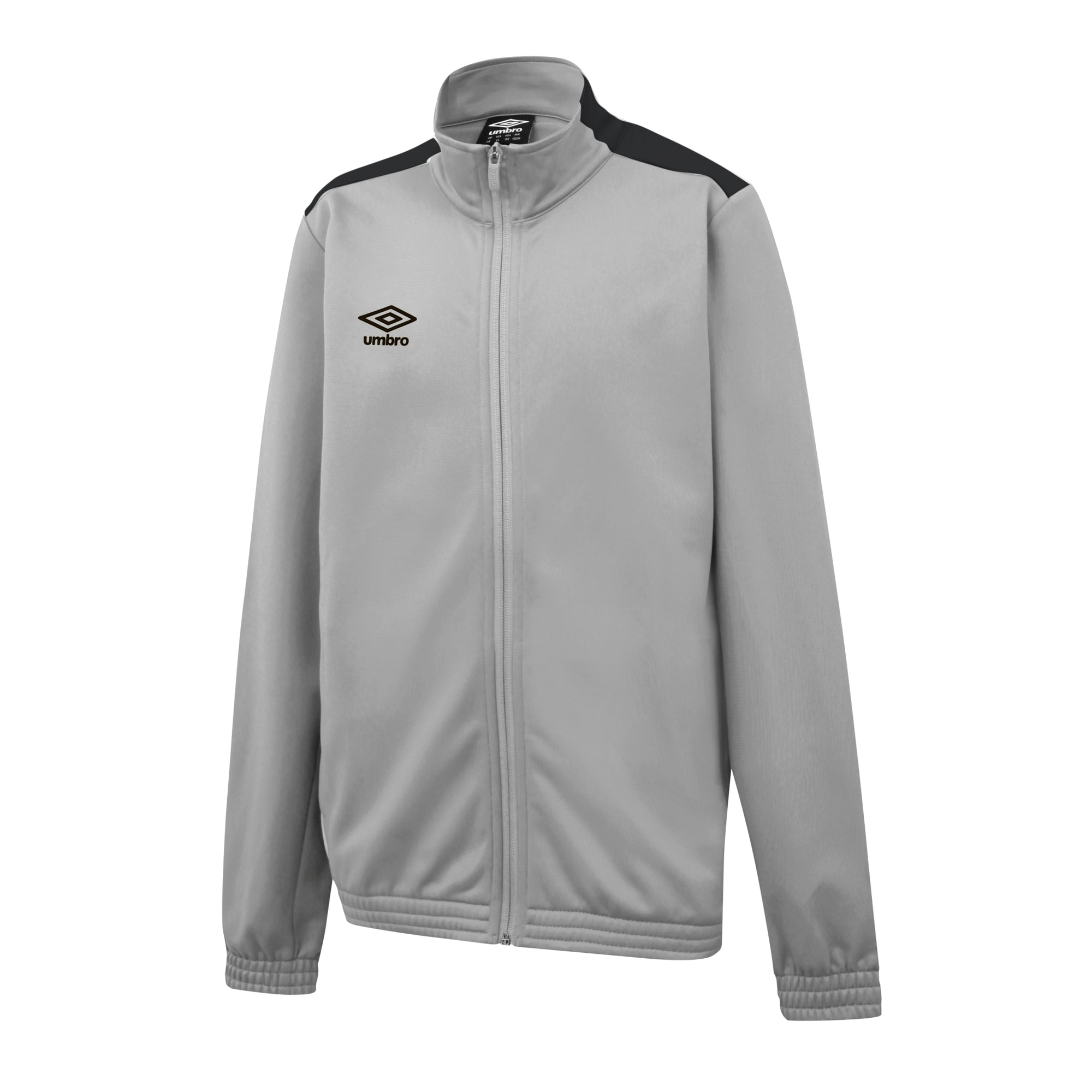 Umbro Training Knitted Jacket - High Rise/Carbon