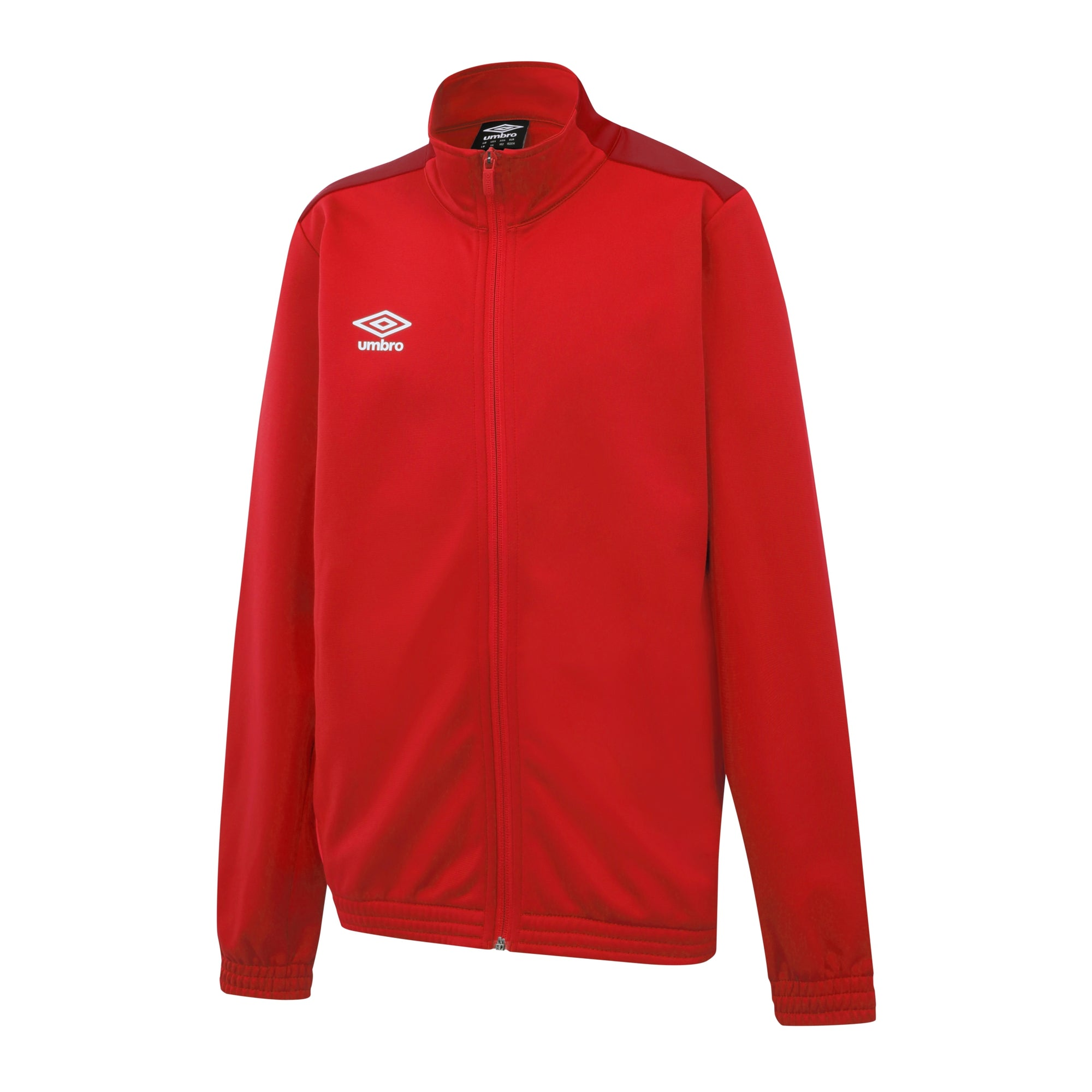 Umbro Training Knitted Jacket - Vermillion/Jester Red