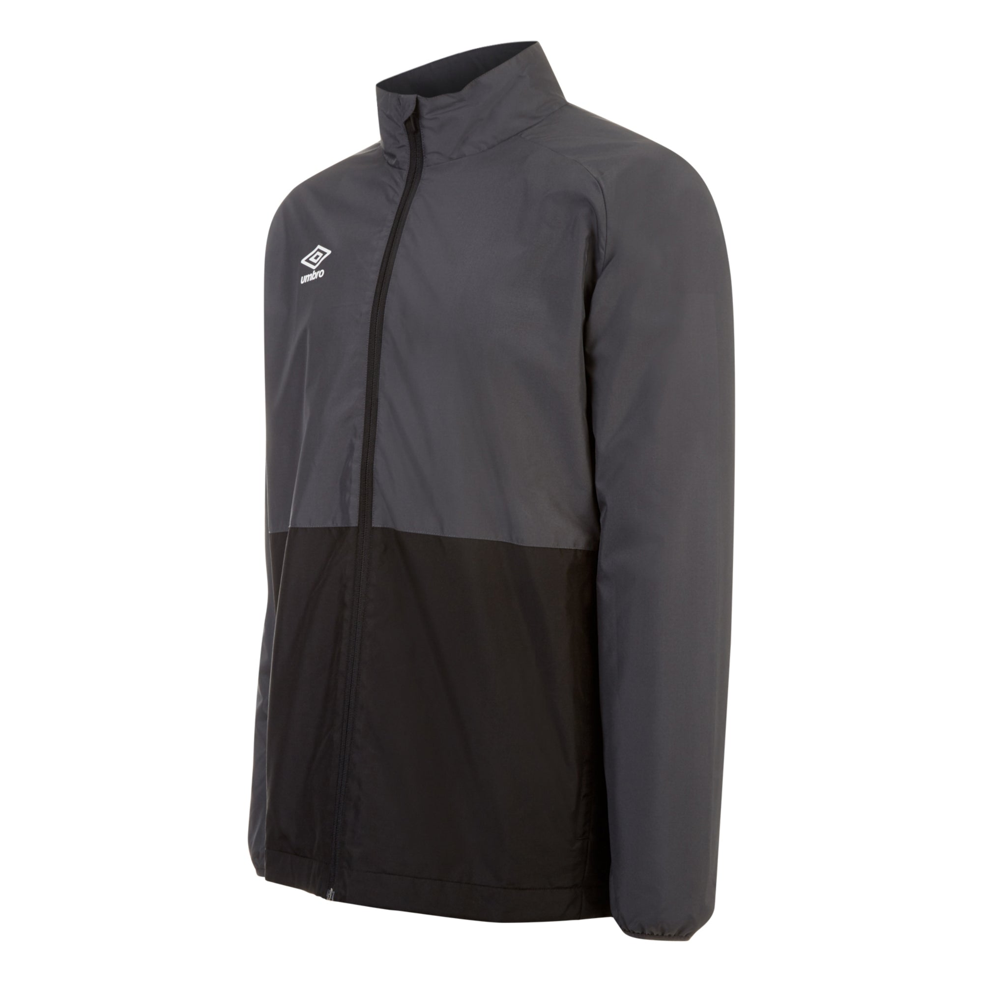 Umbro Training Shower Jacket - Carbon/Black