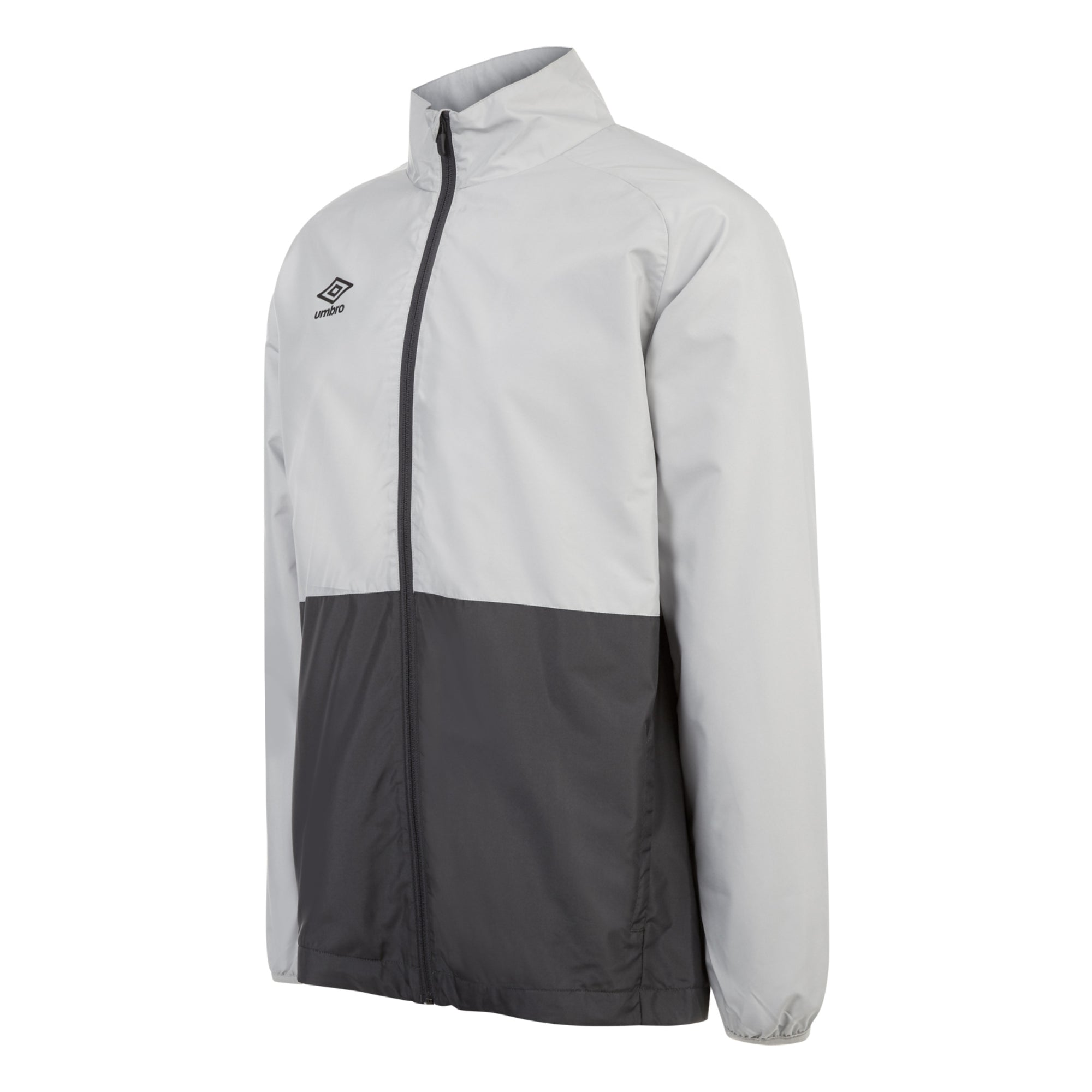 Umbro Training Shower Jacket - High Rise/Carbon