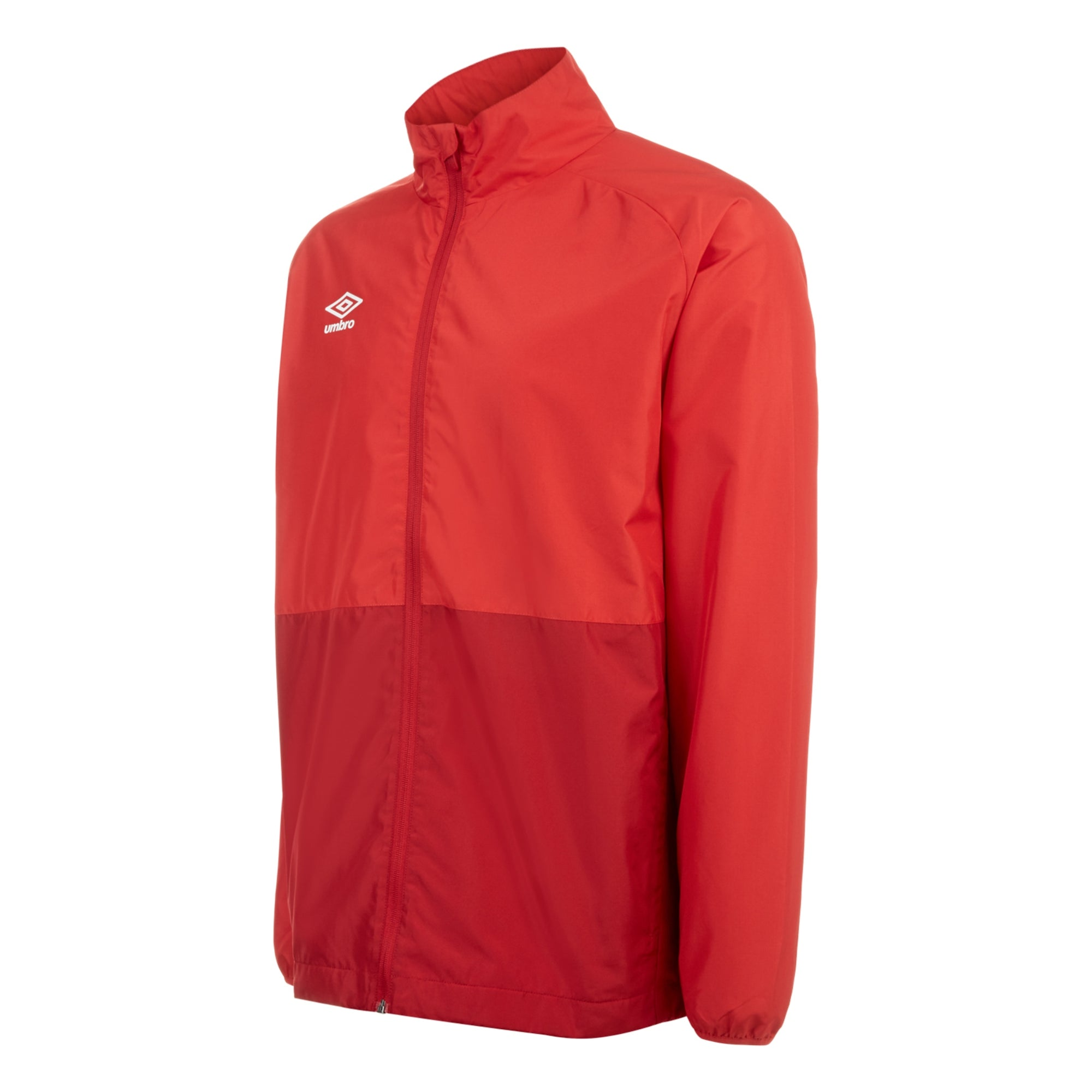 Umbro Training Shower Jacket - Vermillion/Jester Red