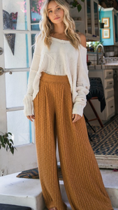 Cami Wide Leg Knit Pant