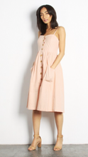 Sweetheart Cami dress in blush
