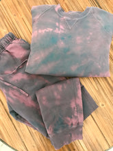 Tie Dye Sweat Set In Pink/Navy (Available Now)