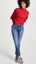 Line & Dot Alder Sweater In Red