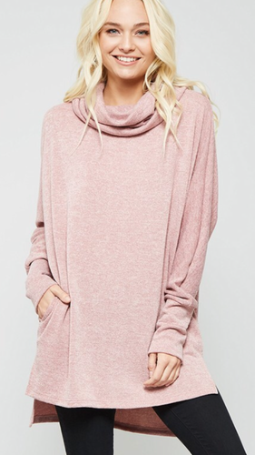 Slouchy Neck Pullover