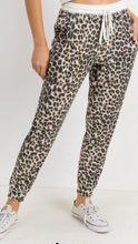 Leopard Soft Knit Thermal Joggers