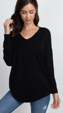 Dreamers Soft Relaxed Fit Lightweight Tunic Sweater (2 colors available)