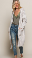 Softie Wool Sweater Maxi Cardigan