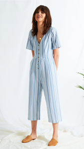 Romy striped Jumpsuit