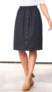 Dalia Button Front Skirt